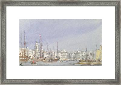 Marseilles Framed Print by William Callow