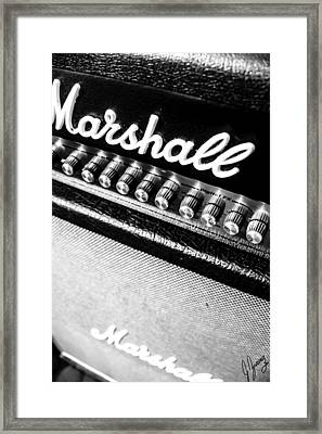 Marshall Madness V2 Framed Print by Joshua Zaring