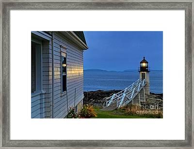 Marshall Point Lighthouse Framed Print by John Greim