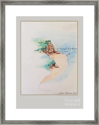 Martha's Vineyard Memories 2 Framed Print by Janis Kirstein