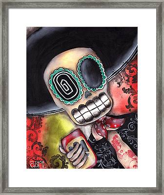 Martin Mariachi Framed Print by  Abril Andrade Griffith