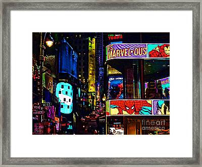 Marvelous Framed Print by Jeff Breiman