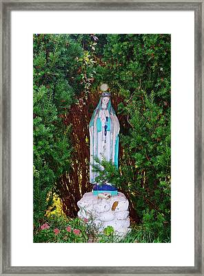 Mary And Orb Framed Print by Don Youngclaus