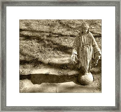 Mary Framed Print by Brittany H