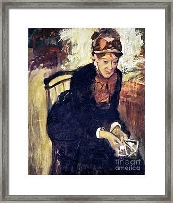 Mary Cassatt (1845-1926) Framed Print by Granger