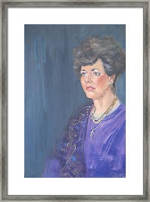 Mary Jane Framed Print by Len Stomski