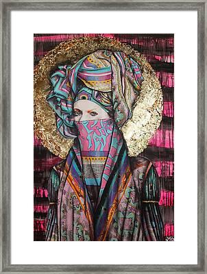 Mary Magdalene Framed Print by Maudy Alferink