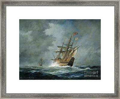 Mary Rose  Framed Print by Richard Willis