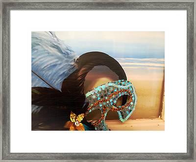 Mascarade Framed Print by JAMART Photography