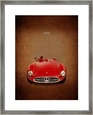 Maserati 300 S Framed Print by Mark Rogan