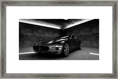 Maserati Gt Framed Print by Piro4d