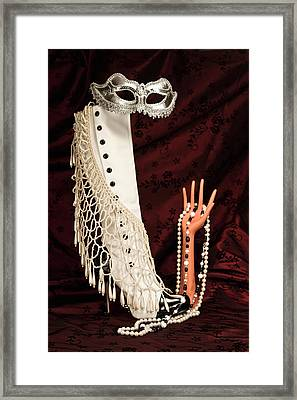 Masquerade Framed Print by Tom Mc Nemar