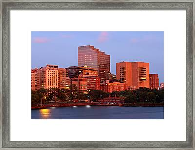 Massachusetts General Hospital Framed Print by Juergen Roth