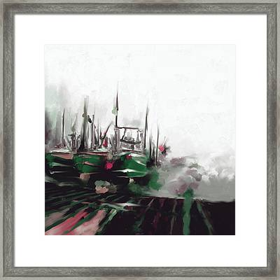 Massachusetts I 481 2 Framed Print by Mawra Tahreem