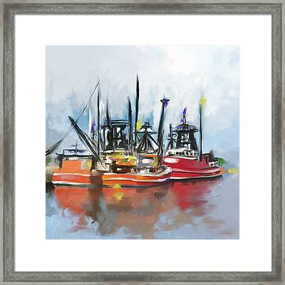Massachusetts II 482 I Framed Print by Mawra Tahreem