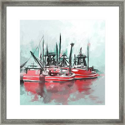 Massachusetts II 482 II Framed Print by Mawra Tahreem