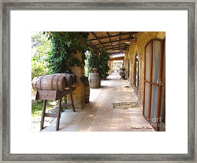 Masseria - Farm In Apulia Framed Print by Italian Art