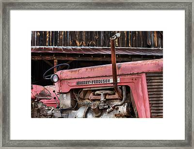 Massey Ferguson Framed Print by JC Findley