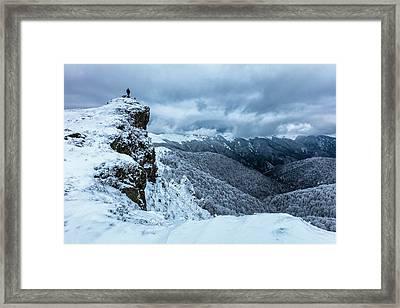 Master Of Elements Framed Print by Evgeni Dinev