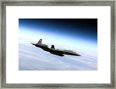 Master Of The Skies Framed Print by Peter Chilelli