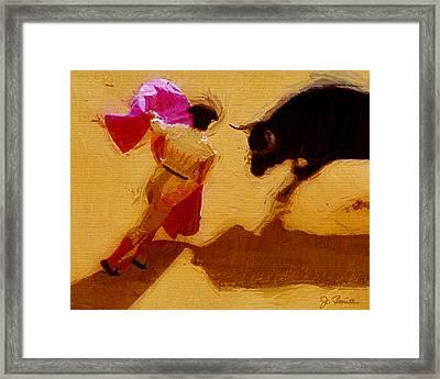 Matador Framed Print by Joe Bonita