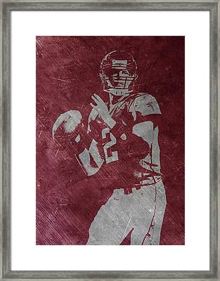 Matt Ryan Atlanta Falcons 2 Framed Print by Joe Hamilton