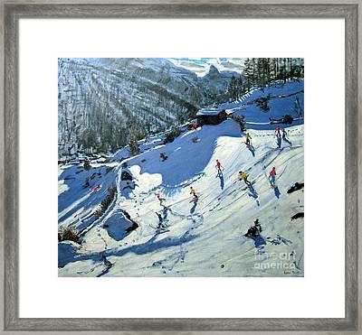 Matterhorn Framed Print by Andrew Macara