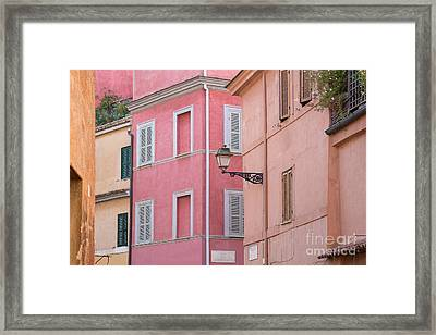 Mattonato Framed Print by Richard Thomas