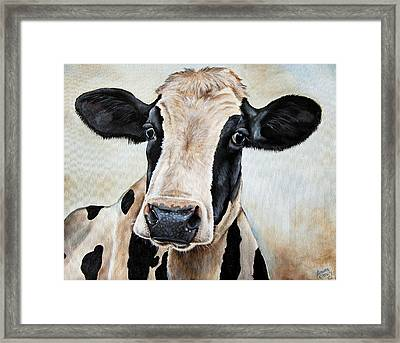 Maude Framed Print by Laura Carey
