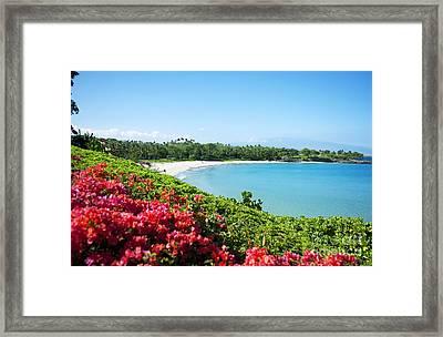 Mauna Kea Beach Framed Print by Ron Dahlquist - Printscapes