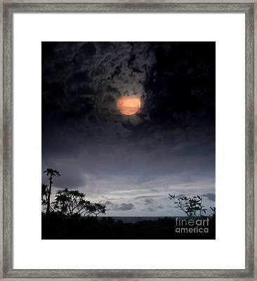 Maunaleo Journey With Spirit Framed Print by Sharon Mau