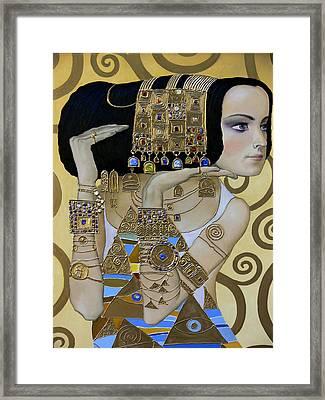 Mavlo - Klimt A Framed Print by Valeriy Mavlo