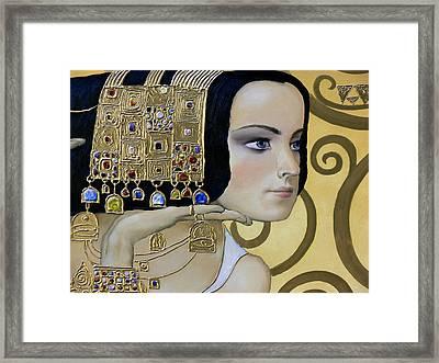 Mavlo - Klimt B Framed Print by Valeriy Mavlo