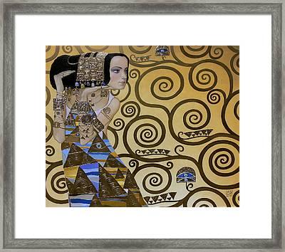 Mavlo - Klimt Framed Print by Valeriy Mavlo