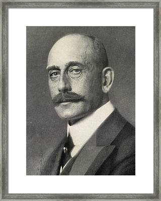 Max Von Baden, 1867-1929. Heir To Framed Print by Vintage Design Pics
