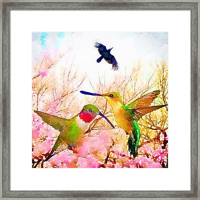 May Afternoon Framed Print by Melissa D'Ortenzio