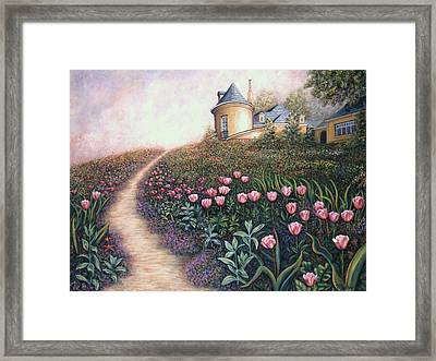May Flowers Two Framed Print by Linda Mears