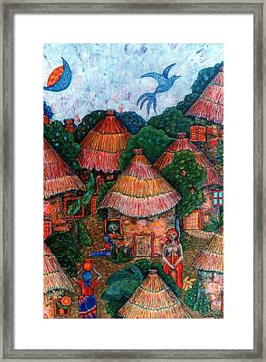 Maybe That Was My Country Framed Print by Madalena Lobao-Tello