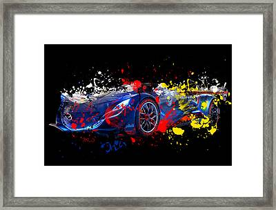 Mazda Framed Print by Mark Ashkenazi
