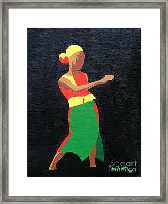 Mbili Framed Print by Christine Fontenot