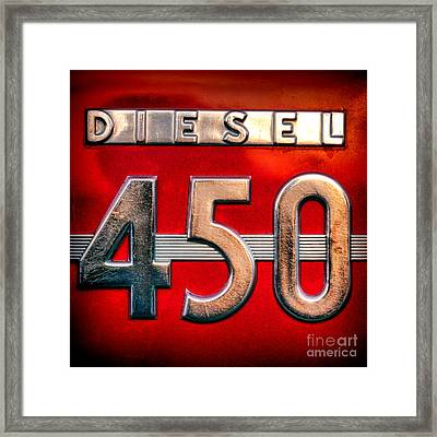 Mc Cormick Farmall Diesel 450 Framed Print by Olivier Le Queinec