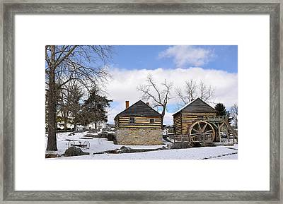 Mccormick Farm 1 Framed Print by Todd Hostetter