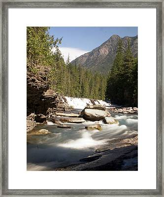 Mcdonald Creek 2 Framed Print by Marty Koch