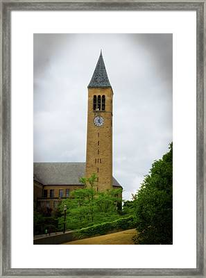 Mcgraw Tower Cornell University Ithaca New York 02 Framed Print by Thomas Woolworth