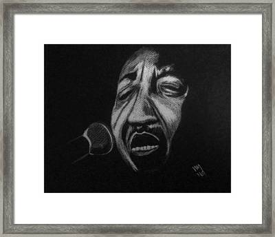 Mckinley Morganfield Framed Print by Nick Young