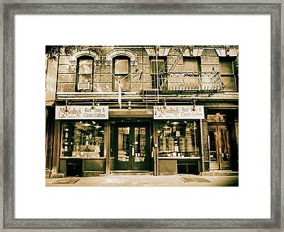 Mcnulty's Tea And Coffee Framed Print by Jessica Jenney
