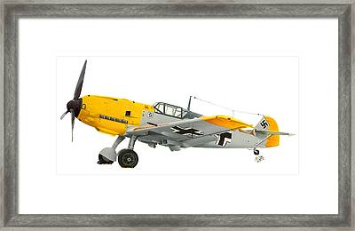Me-109 Framed Print by Lyle Brown