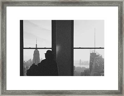 Me And Nyc Framed Print by J Montrice