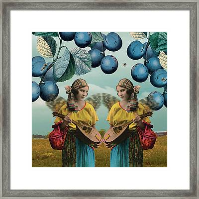 Me And You Framed Print by Olga Snell