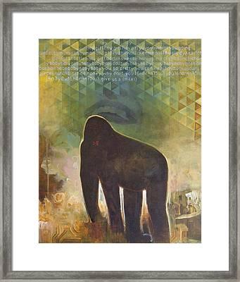 Me Jane Framed Print by Sandra Cohen